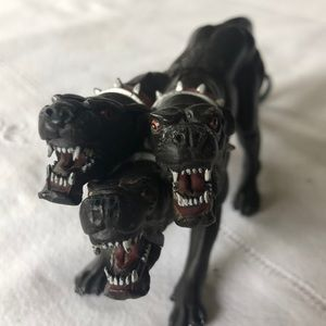 Papo Cerberus three headed dog 2003